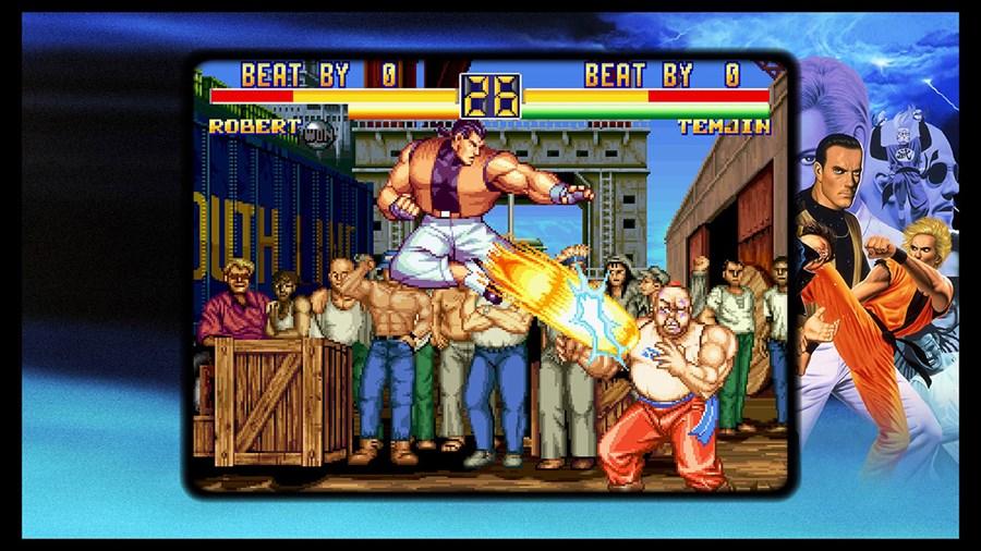 Art Of Fighting Anthology Screenshots