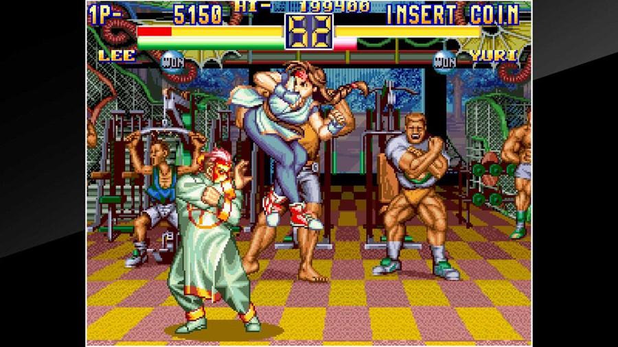 Aca Neogeo Art Of Fighting 2 Screenshots