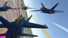 Blue Angels Aerobatic Flight Simulator Screenshot 3