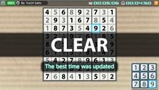 Puzzle by Nikoli V Sudoku (Vita) Screenshot 2