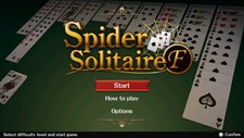 SpiderSolitaireF Screenshot 4
