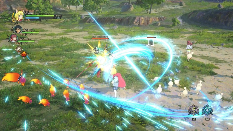 Combat takes a new dimension in Ni No Kuni II, where you will jump into battle directly with our heroes!
