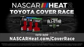 NASCAR Heat 2 Announced, Cover Athlete Decided by Players