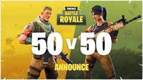 Fortnite 50v50 V2 Trailer and v3.5.1 Patch Notes