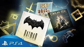 Playstation Plus Titles for January 2018 Now Available