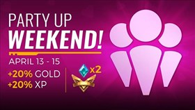 Paladins Party Weekend Boosts Gold and XP by 20%